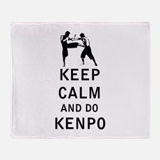 keep_calm_and_do_kenpo_throw_blanket